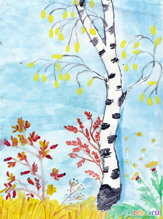 """Рисунки на тему: """"Осень"""" 4 класс - 13 Апреля 2015 - Сайт ..."""